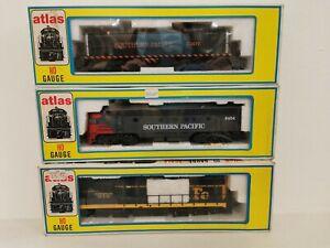 Atlas No. 7048 No. 8175 No.7001 HO gauge locomotives x 3