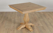 Unbranded Square Up to 4 Seats Oak Kitchen & Dining Tables