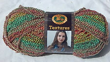 """Lion Brand """"Textures Yarn"""" in MEADOW FLOWERS - NEW Smoke Free Home Worsted Wt(4)"""