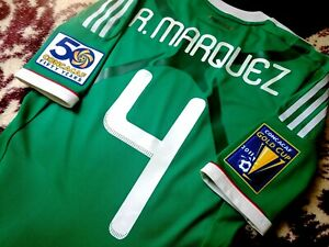 Jersey mexico Rafael Marquez adidas 2011 techfit  (M) Gold Cup player issue fit