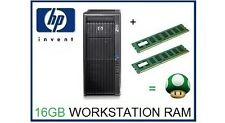16GB (2x8 GB) DDR3 ECC RDIMM Memoria Ram Upgrade HP Z620 solo workstation