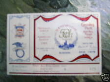 1983 ALL STAR BASEBALL GAME TICKET STUB