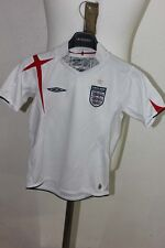 UMBRO EQUIPE D ANGLETERRE MAILLOT DE FOOT FOOTBALL 6 7 ANS
