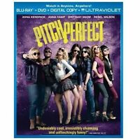 Pitch Perfect [Blu Ray + DVD+ Digital Copy+Ultraviolet] [Blu-ray] new sealed