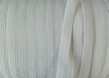 ELASTIC BRAIDED  WHITE  5 yds 3mm SEWING CRAFT EMBELLISHMENTS