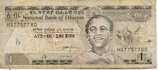 ETHIOPIE ETHIOPIA 1 BIRR 2008 état voir scan