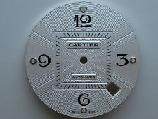 GENUINE CARTIER MEN'S WATCH MOVEMENT PART DIAL PASHA DE CARTIER SILVER COLOR