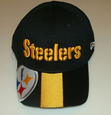 New Era Hat Cap NFL Football Pittsburgh Steelers Helmet 39THIRTY S/M Structured
