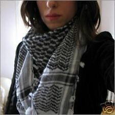 COOL BLACK SHEMAGH DOGTOOTH SCARF revolution protest bn