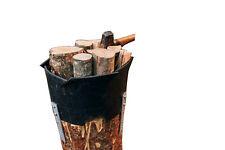 Holzhackhilfe Set Holzhackmanschette zum sicheren Holzhacken von Kaminholz