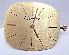 Antique Corum Watch Movement 17 jewels.17.5 mm/ 3 Adjs, 3 Pos Cartier Dial