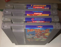 Mega Man 2 3 4 6 (Nintendo Entertainment System, NES) Capcom Game Classic Lot