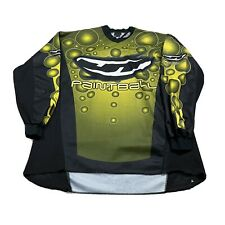 90s VTG JT PAINTBALL JERSEY XL Racing All Over Print Bubble Motocross Rave