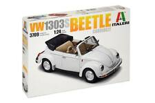 ITALERI 1:24 KIT AUTO CAR VOLKSWAGEN 1303S BEETLE CABRIOLET ART 3709