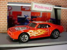CUSTOM '67 PONTIAC FIREBIRD ✰red;pr5✰FLAMES✰2018 Hot Wheels loose