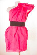 Lanvin for H&M Kleid Dress Robe Abendkleid Seide Damen Gr. DE 40 in Rosa