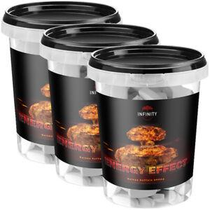 3X ENERGY EFFECT reine Koffein Tabletten 200mg - Muskelaufbau Diätpillen extrem