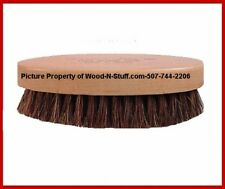 (1) 100% Brown Horse Hair Pro Western Fedora Hat Lint Remover Brush