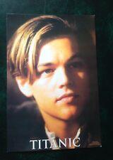 90th anniversary Titanic colour postcard 2002 film Leonardo Dicaprio 'Jack'
