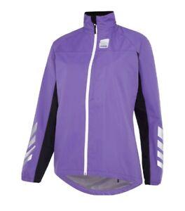 Hump Strobe Women's Ladies Waterproof Cycling Jacket BNWT size 12 purple