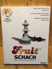 Fruit Schach V 2.1 von Franzis Buch & Software Verlag   Game   Zustand sehr gut