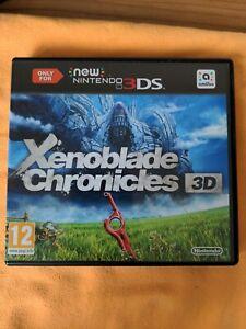 Xenoblade Chronicles 3D (Nintendo 3DS, 2015)
