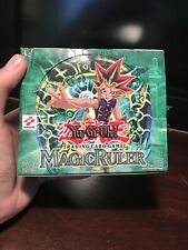1st Edition Yugioh Magic Ruler Booster Box 22/36 Sealed Packs 100% Authentic!!!!