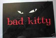 Emily the Strange Postcard Bad Kitty Good Kitty Gone