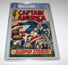 Captain America #102 - PGX VF/NM 9.0 - 1968 Marvel Silver Age Issue (Red Skull)