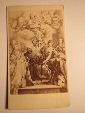 Annibale Carracci - Madonna mit den Heiligen - Kunstbild / CDV