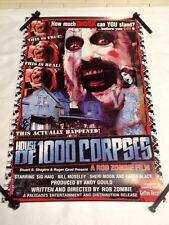 House Of 1000 Corpses 11x17 Geffin Promo Poster  Baby, Otis, Spaulding (P00003)