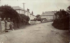 Exeter & Torrington posted Street. Baptist Chapel at centre. ? Bickington area.