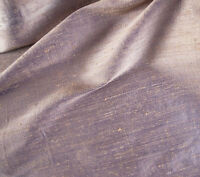 "Dupioni Shot 100% Silk Fabric in Luscious Iridescent Mauve 45"" Wide by the Yard"