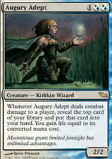 MTG magic cards 1x x1 Light Play, English Augury Adept Shadowmoor