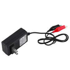 12V 2A Sealed Lead Acid Rechargeable Battery Charger For Car Motor Truck Q#