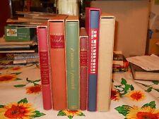 6 Heritage Press Editions Sandglass & Slipcase TRISTAM SHANDY WAVERLY EUGENIE +3