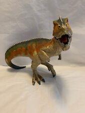"""Schleich Giganotosaurus Orange Dinosaur Figure 6.5"""" x 8"""""""