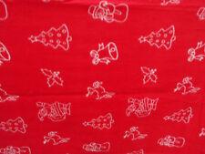 Childrens kids girls boys Christmas fleece winter red blanket snowman tree bed