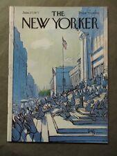 Vintage New Yorker Magazine June 27 1977 - Arthur Getz cover art