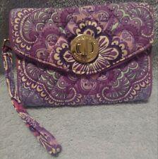 Vera Bradley Your Turn Smartphone Wristlet - Lilac Tapestry