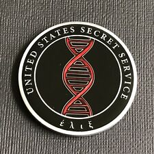 USSS US Secret Service TECHNICAL SECURITY DIVISION TSD RED HELIX Challenge Coin
