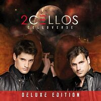 Celloverse Deluxe Edition - 2 Cellos CD + DVD Set Sealed ! New ! 2015 !