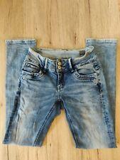 M.O.D. Damen Jeans Hose nini sninni blossom blue W27 L32