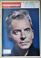 Herbert von Karajan cover - 1967 French Music / Records Magazine - Diapason