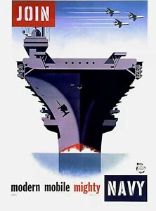 United States Navy Recruiting Art Print 13x19 Poster High Quality US Navy Decor