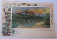 Klosterneuburg Jugendstil, 1900,Wiener Aquarellisten, G. Bamberger ♥  (72877)