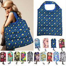 Reusable Storage Handbag Foldable Key Chain Tote Pouch Recycle Shopping Bags 1PC