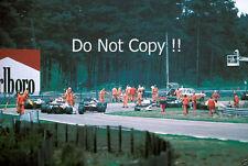 Gilles Villeneuve Ferrari Accident Belgian Grand Prix 1982 Photograph 1