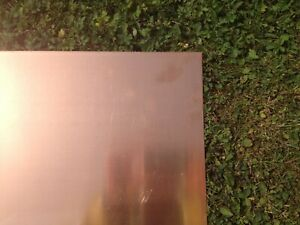 Copper Sheet Flat Sheet C101 Grade Perfect For DIY Project Or Small Projects