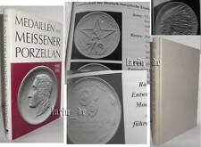Book about East German Medal Meissen porcelain DDR stasi sed NVA GPL MEDAGLIA...
